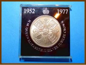 Великобритания 5 шиллингов 1953 г.