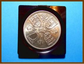 Великобритания 5 шиллингов 1960 г.