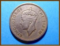 Британская Малайя 20 центов 1950 г.