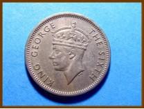 Британская Малайя 10 центов 1948 г.