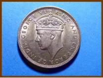 Британская Малайя 20 центов 1943 г. Серебро