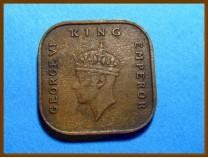 Британская Малайя 1/2 цента 1940 г.
