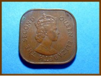 Британская Малайя 1 цент 1957 г.