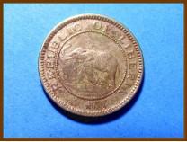 Либерия 1/2 цента 1937 г.