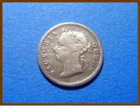 Гонконг 5  центов 1899 г.