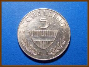 Австрия 5 шиллингов 1960 г. Серебро