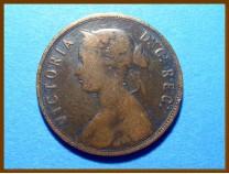 Канада 1 цент 1865 г. Ньюфаундленд