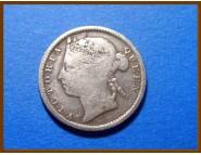 Стрейтс-Сетлментс 10 центов 1894 г. Серебро