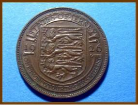 Джерси 1/24 шиллинга 1926 г.