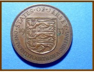 Джерси 1/24 шиллинга 1937 г.