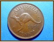 Австралия 1 пенни 1951 г.