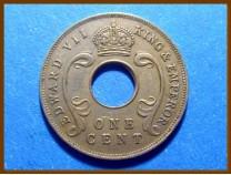 Восточная Африка и Уганда 1 цент 1909 г.