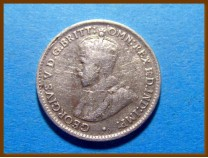Австралия 3 пенса 1926 г. Серебро