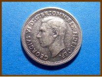 Австралия 3 пенса 1951 г. Серебро