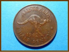Австралия 1/2 пенни 1942 г.