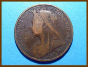 Великобритания 1 пенни 1901 г.