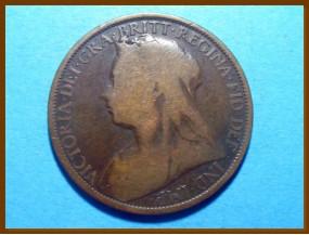 Великобритания 1 пенни 1895 г.