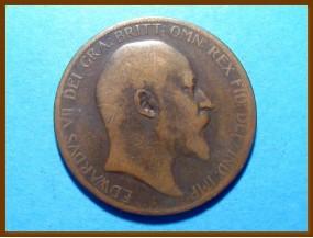 Великобритания 1 пенни 1904 г.