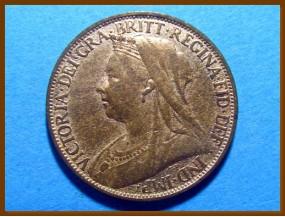 Великобритания фартинг 1895 г.