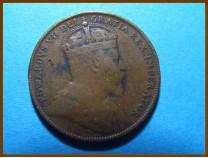 Канада 1 цент 1909 г. Ньюфаундленд
