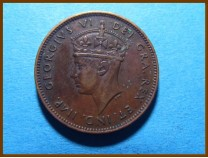 Канада 1 цент 1938 г. Ньюфаундленд