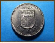 Родезия 10 центов 1975 г.