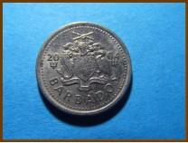 Барбадос 10 центов 2004 г.