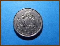 Барбадос 10 центов 1995 г.