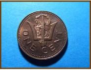 Барбадос 1 цент 1980 г.