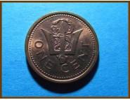 Барбадос 1 цент 2004 г.