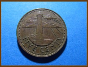 Барбадос 5 центов 1973 г.