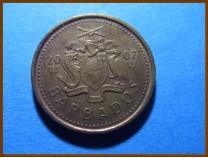 Барбадос 5 центов 2007 г.