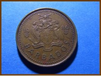 Барбадос 5 центов 1986 г.