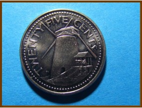 Барбадос 25 центов 2006 г.