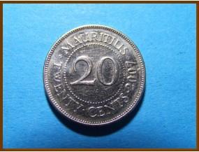 Маврикий 20 центов 2007 г.