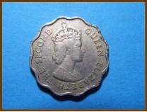 Маврикий 10 центов 1963 г.
