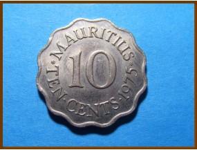 Маврикий 10 центов 1975 г.