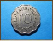 Маврикий 10 центов 1969 г.