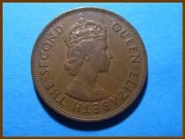 Маврикий 5 центов 1964 г.