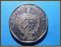 Куба 1 песо 2000 г.