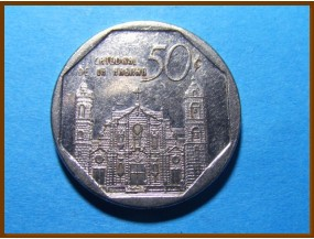 Куба 50 сентаво 2002 г.
