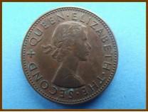 Новая Зеландия 1/2 пенни 1957 г.