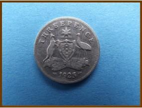 Австралия 3 пенса 1925 г.