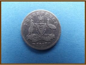 Австралия 3 пенса 1917 г.