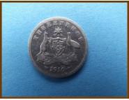 Австралия 3 пенса 1910 г.