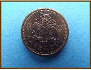 Барбадос 1 цент 1987 г.