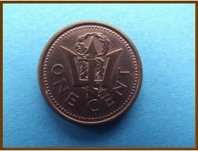 Барбадос 1 цент 2002 г.