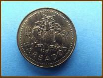 Барбадос 5 центов 1997 г.