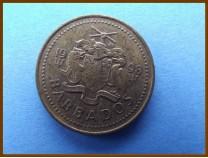 Барбадос 5 центов 1998 г.