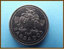 Барбадос 25 центов 2008 г.